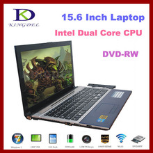 New 15.6 Inch Laptop, Notebook Computer with Intel Celeron Dual Core CPU, 4GB+500GB, DVD-RW, 1080P HDMI, Bluetooth, Windows 7(Hong Kong)