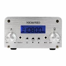 Hot 5W 15W PLL FM Transmitter Mini Radio Stereo Station Bluetooth Wireless Broadcast for FM Radio