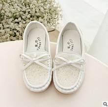 الربيع والخريف الأطفال الأخفاف الإناث الفتيات الجلود أحذية رياضية الأميرة حجر الراين القوس طفل واحد أحذية رياضية أحذية أطفال طويلة الرقبة(China)