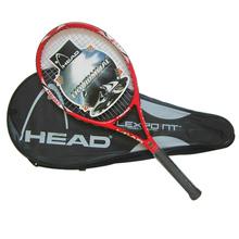 Haute qualité raquette de Tennis Tennis de Fiber de carbone de Hend raquettes de raquette équipé avec sac de Tennis Grip taille 4 1/4 raquetas de tenis(China (Mainland))
