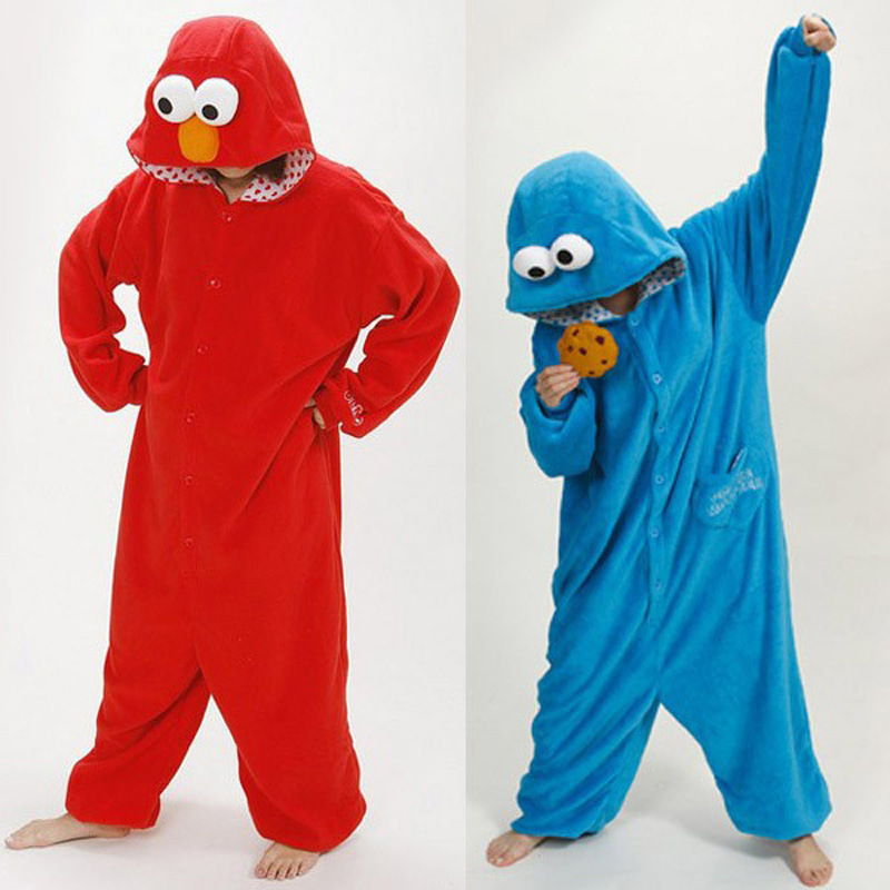 Diy cookie monster costume for adults