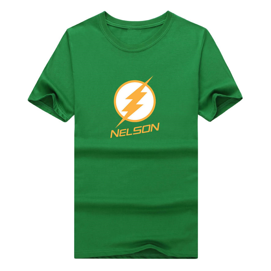 2017 Funny Jordy Nelson 87 white lighting Packers fan T-shirt funny green bay fans T Shirt 0119-3(China (Mainland))