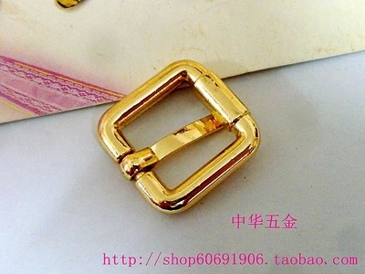 35825905688 DIY luggage leather handbags bags hardware fittings light gold specifications: diameter of 1.6cm*1.6cm(China (Mainland))