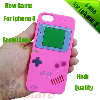 New Game Player  Design, Silicon case for iphone 5 5G, Best Protection, 100pcs/Lot, Best sell, New Look, Free DHL