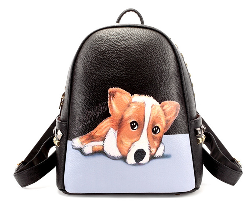 Здесь можно купить  2015 New Arrival Design Of Cartoon Dog Backpack    Shoulder Bags For  Girls  Камера и Сумки