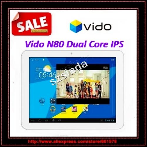Original Vido N80 IPS RK3066 dual core dual camera 2.0MP Wifi HDMI 1GB RAM 16GB tablet pc / Anna(Hong Kong)