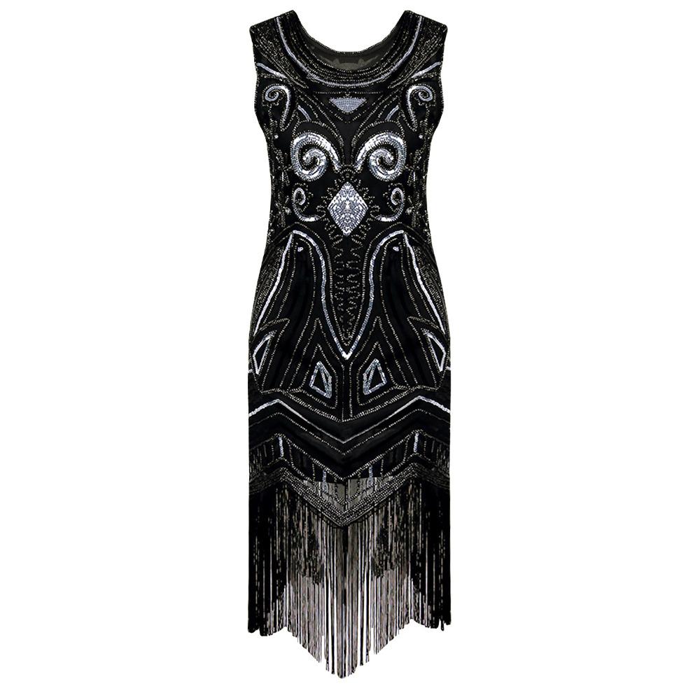 charleston flapper dress promotion shop for promotional. Black Bedroom Furniture Sets. Home Design Ideas