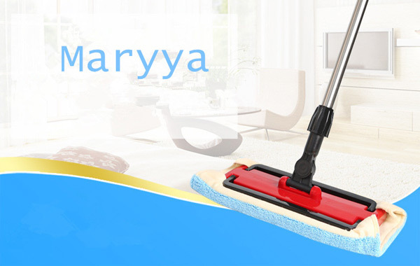 Wood floor flat mop with head Large household 360 degree spin dry magic mop rotating mop(China (Mainland))