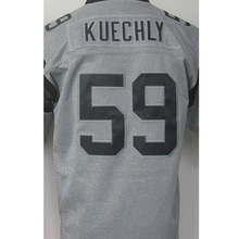 Shop Discount Cheap Men's 1# Cam Newton High quality #59 Luke Kuechly 100% Stitched Logos Gray Gridiron Gray Limited Jersey Free(China (Mainland))