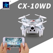 Cheerson micro helicopter four rotor aircraft RC CX-10WD radio four-axis unmanned aerial vehicle DJI Phantom pocket camera(China (Mainland))