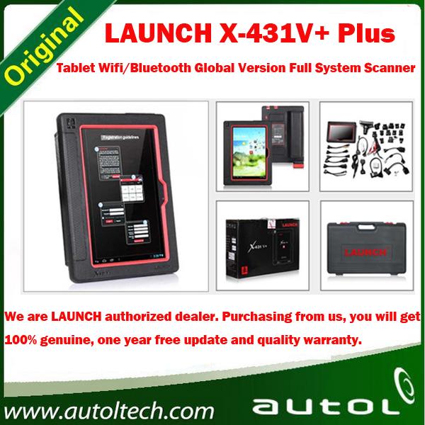 Authorized Dealer 2016 New Arrival Auto Diagnostic Scanner Launch X431 Tablet PC X431 V+ 100% Original Update via internet X-431(China (Mainland))