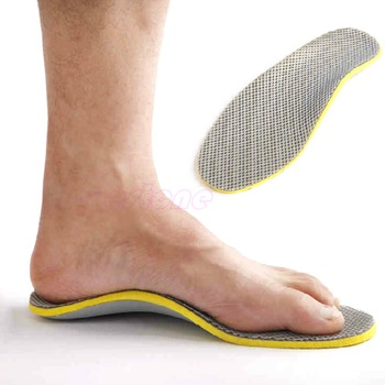 3D Premium Comfortable Orthotics flat foot Insole TPU Orthopedic Insoles for Shoes insert Arch Support pad for plantar fasciitis