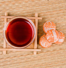 Yunnan Pu Erh Dark Tea 250g Weight Loss Tea Chinese Puer Shu Puerh Mini Tuocha Orange