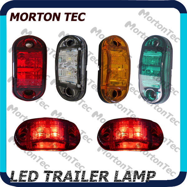 10pcs Submersible led side marker lights for trucks led trailer clearance lights--MT3130(China (Mainland))