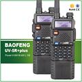 2PCS Long Battery Ultra High Power 8W 4W 1W Original Baofeng UV 5R plus Wireless Walkie