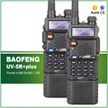 2PCS Long Battery Ultra High Power 8W 4W 1W Original Baofeng UV 5R plus Wireless Walkie