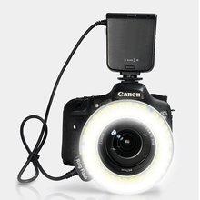 Buy HC-122 122 Macro LED Ring Flash Light Canon 100D 700D 650D 1100D 600D 500D 550D 450D 1000D 400D 350D 70D 60D 60Da 50D 40D for $46.20 in AliExpress store