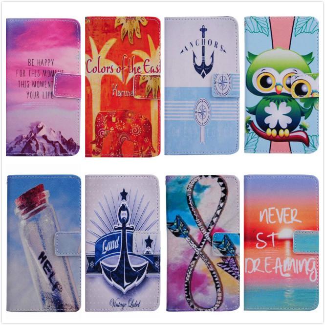 Wild Resort scene Love Heart flower Colorful Print Leather Flip Case Cover for LG L BELLO D331 D335 D337 Card Slot Wallet Bag(China (Mainland))