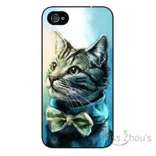 For iphone 4/4s 5/5s 5c SE 6/6s plus ipod touch 4/5/6 back skins mobile cellphone cases cover Cats
