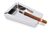 New Fashion Innovative Metal Cigarette Cigar Ashtray For Men Smoking Creative Suitable as gift for friends(China (Mainland))