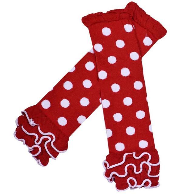 Мода Точки Гетры Волны Agaric Девушки Специальный Рюшами Носки Многоточий Грелки ...