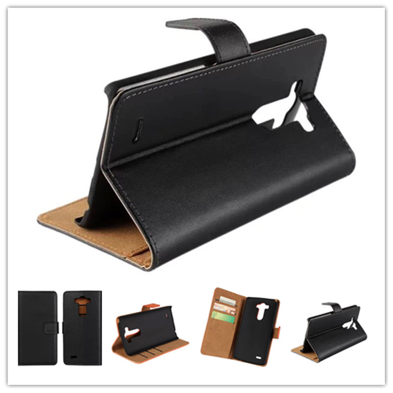 For LG G3 Case Cover Flip Wallet Genuine Leather Mobile Phone Case For LG G3 Smartphone Case with Card Slot Holder Cover(China (Mainland))