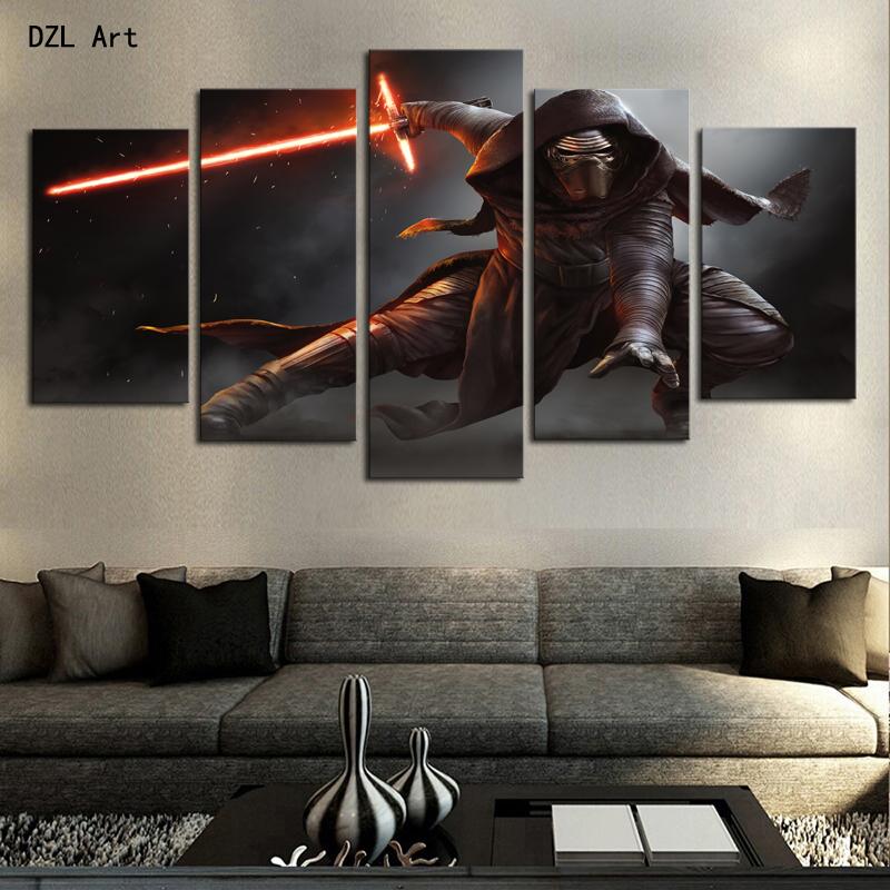 achetez en gros star wars toile art en ligne des. Black Bedroom Furniture Sets. Home Design Ideas