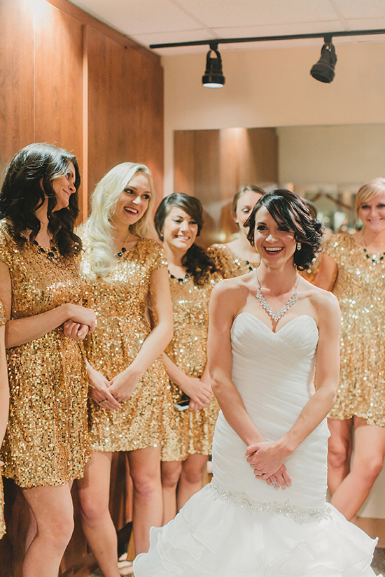 2016 short mini bling bridesmaid dresses sparkly gold for Wedding dress ideas for short brides