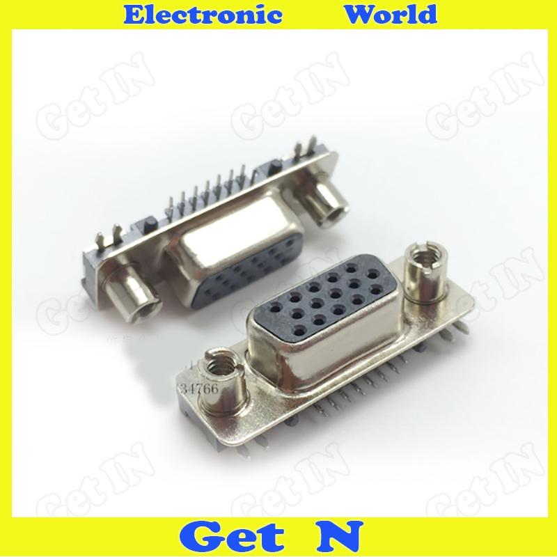 500pcs Top Eight After Seven 845 VGA Connector VGA Male Plug/Pin Block For Ultra-thin Notebook(China (Mainland))