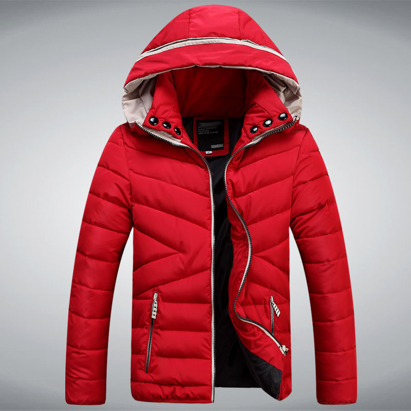Mens Red Down Jacket | Outdoor Jacket
