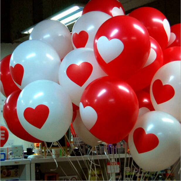 10pcs lot 12inch latex balloon air balls inflatable wedding birthday party decoration Float balloons toys YHB