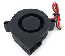 2015 New Black 12V DC 0 01A 3D Printer Blowing Fan for Cooling Heatsinks and Prints