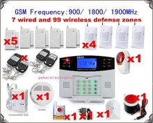 wholesale gsm wireless home alarm system