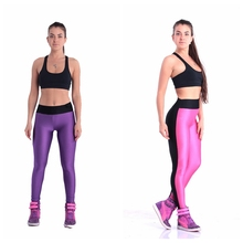 57043 womens exercise leggings fitness pants sports leggings exercise training pants very spandex size fast free shipping