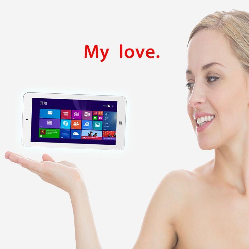 Фотография 2016 New 7 inch Original W10 Tablets pc MOMO7W Intel Atom Quad Core 1GB 16GB Windows Tablet PC 1024*600 HDMI Video Output White
