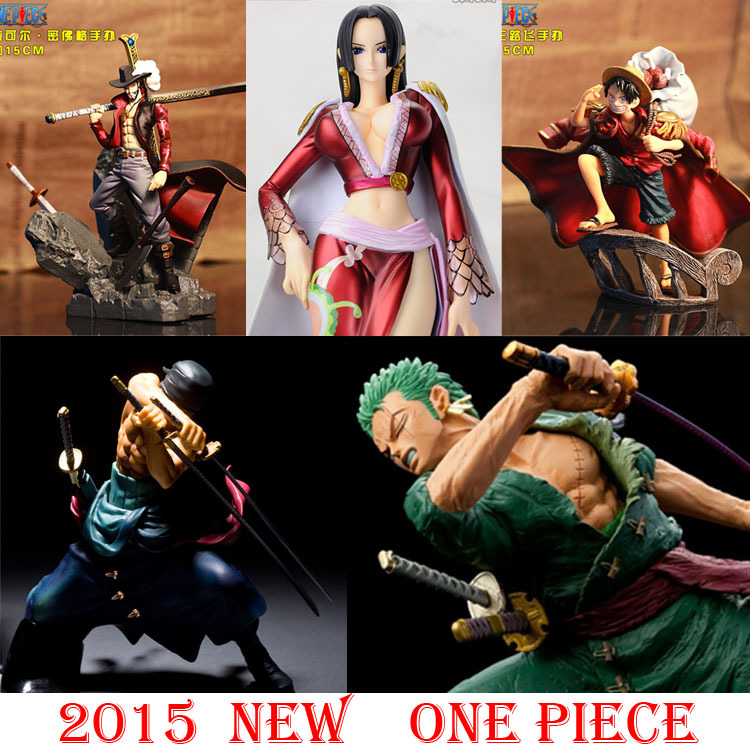 Free Shipping Japan Anime One Piece POP Roronoa Zoro Banpresto Onepiece Luffy Action Figure Hancock Mihawk PVC Zero in bag(China (Mainland))
