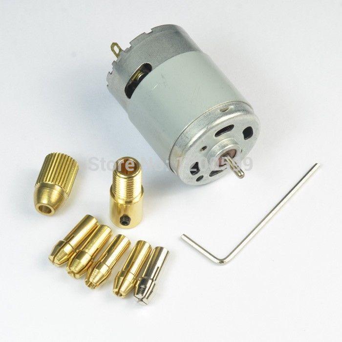 электродвигатель мини дрель