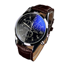Durable Hot Sale Luxury Brand Dress Men Watches 2015 Fashion Casual Army Watches Men Faux Leather