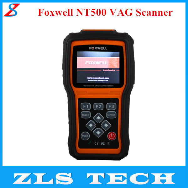2015 New Arrival Foxwell NT500 VAG Scanner NT500 Auto Diagnostic Tool for VW/AUDI vehicles From 1996(China (Mainland))