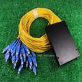 1 32 CATV Fiber Optic PLC Splitter pigtail singlemode with SC connector for FTTH 1x32 ODN