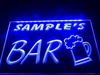 DZ023- Bar Beer Mug Glass Pub LED Neon Light Sign