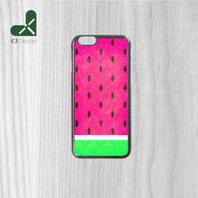 Hot Low WATERMELON Background Pattern PC Material Durable Mobile Phone Parts Protective Cover for iphone 6 6s 6 6S Plus 4S 5S 5C