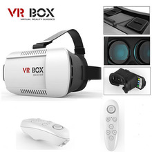 HOT VR BOX 2.0 Pro Version VR Virtual Reality 3D Glasses +Smart Bluetooth Wireless Mouse/Remote Control Gamepad