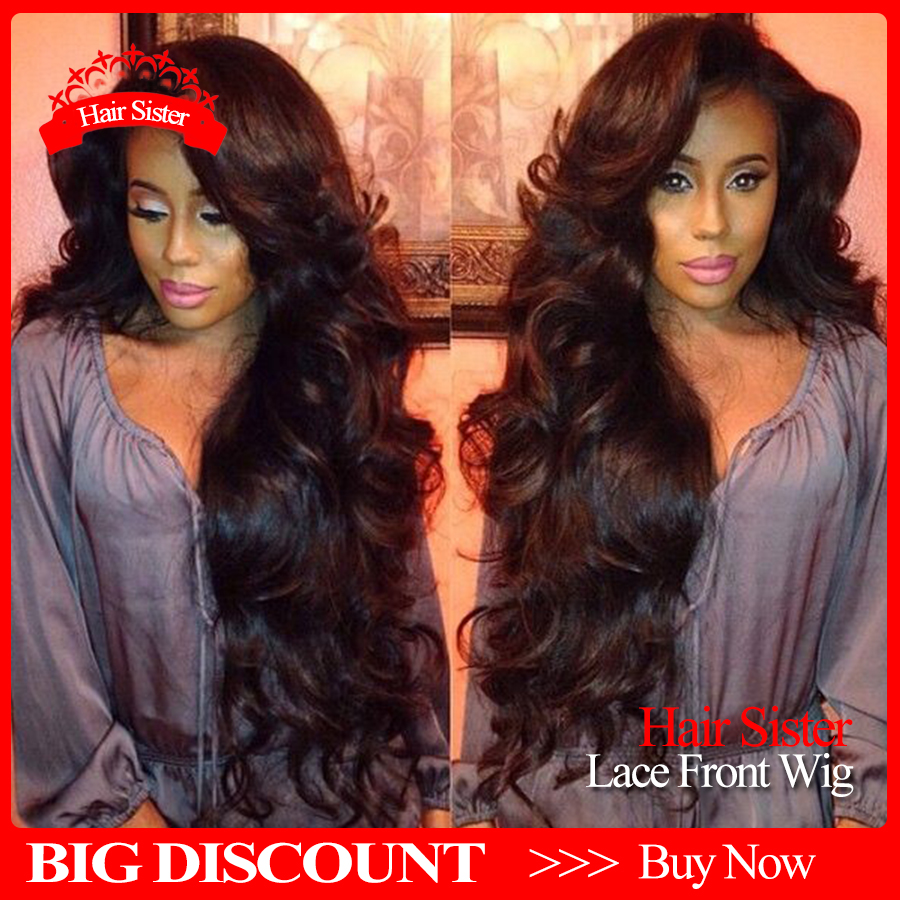 Natural deep body wave heat resistant synthetic lace front wigs glueless lace front wigs 12-28inch for black women synthetic wig<br><br>Aliexpress