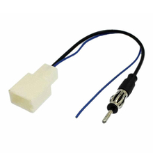 FJS!Car Antenna Plug to FM Radio Stereo Adapter Refitting Wire(China (Mainland))