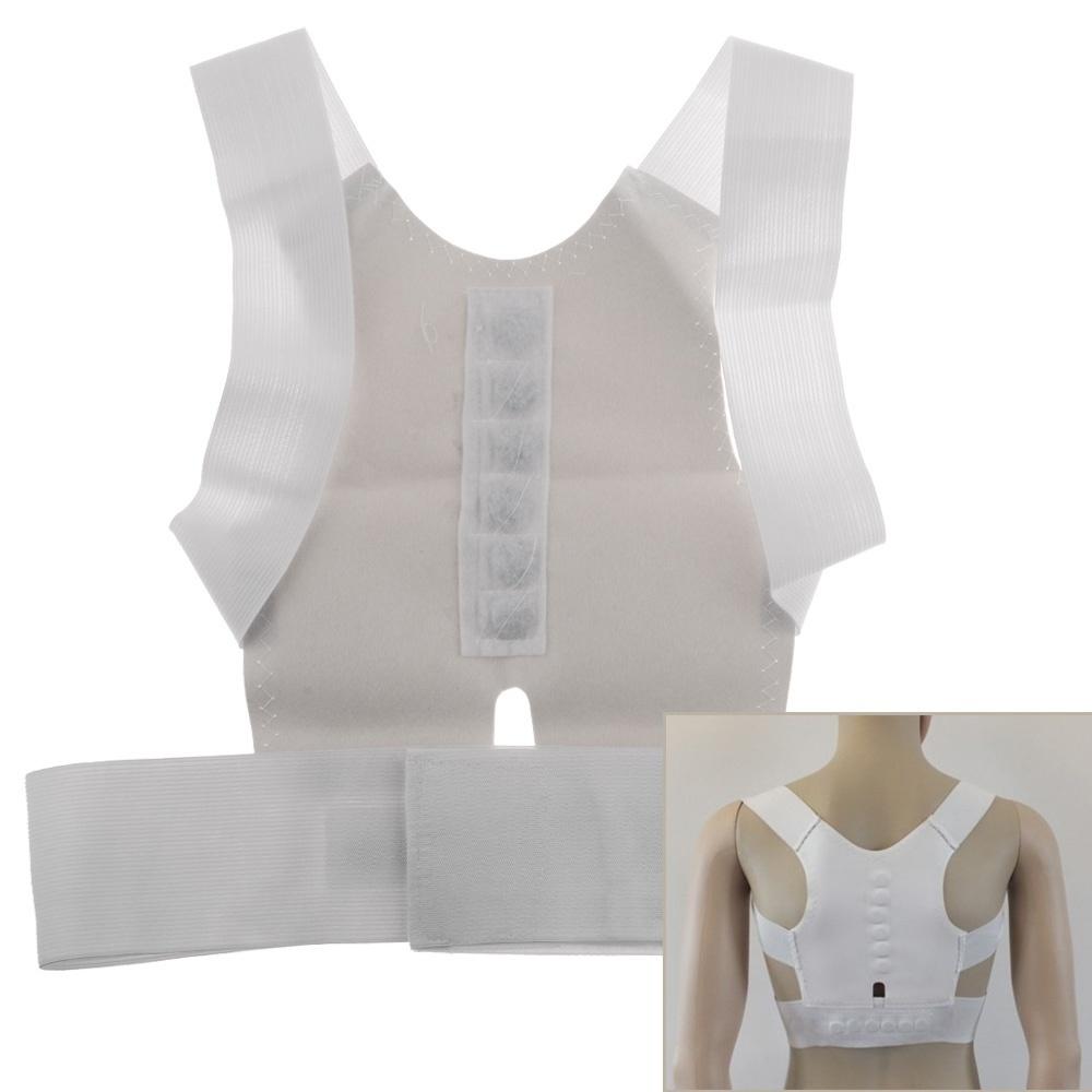 Dr Levines Original Durable Shoulder Magnetic Posture Corrector Elastis Back Support Belt Vest Brace 4 Size