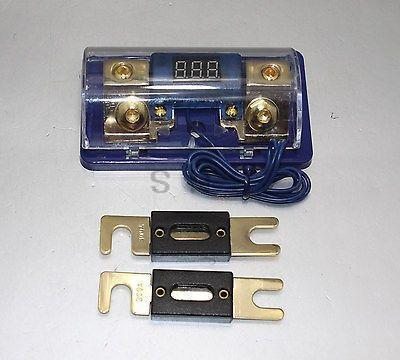 fuse holder anl prices net 2pc 200a anl digital platinum dist block 0 4 gauge fuse holder skfh061g