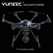 YUNEEC typhoon H480 RC drones intelligent obstacle avoidance 4K FPV uav multi rotor Ultra HD hexacopter aerial drone aircraft