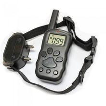 New Arrival Remote Electric Shock Anti-bark Pet Dog Training Collar Tools with LCD display Free Shopping(China (Mainland))