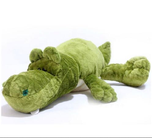 Plush toy stuffed doll NICI Crocodile alligator pillow cushion birthday gift 1pc(China (Mainland))